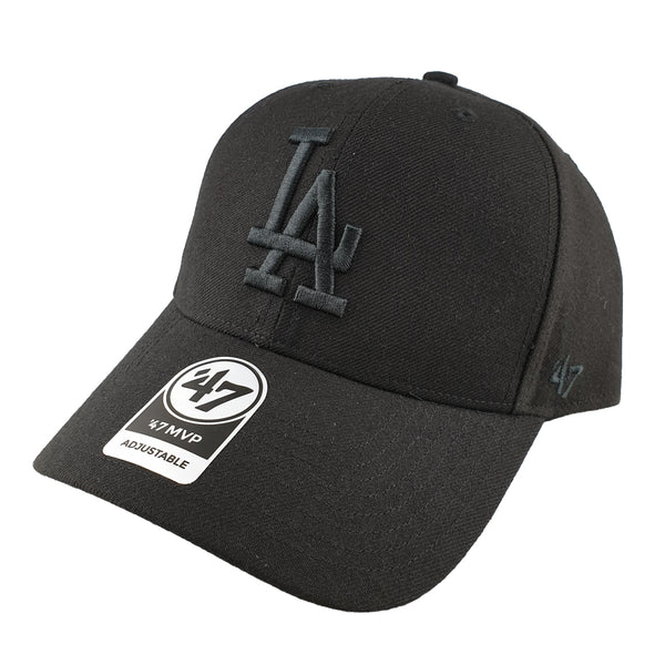 '47 Brand - MVP Black/Black Snapback - Los Angeles Dodgers