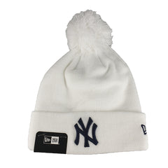 NEW ERA - Yankees Team Beanie Knit - White
