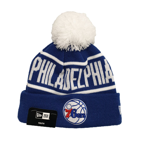 NEW ERA (Youth) - NBA Knits on Fire Beanie - Philadelphia 76ers