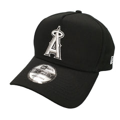 NEW ERA 9FORTY A-FRAME - Street Black & White - Anaheim Los Angeles Angels