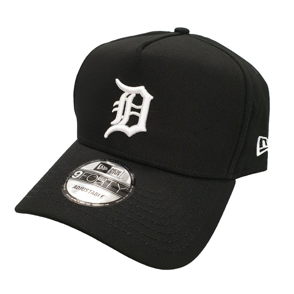 NEW ERA 9FORTY A-FRAME - Street Black & White - Detroit Tigers