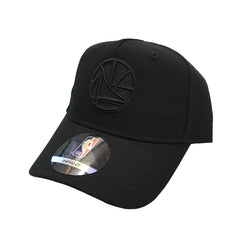 NBA Infant - All Black Logo Snapback - Golden State Warriors