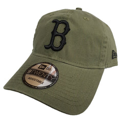 NEW ERA 9TWENTY - Street Washed Olive - Boston Red Sox