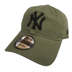 NEW ERA 9TWENTY - Street Washed Olive - New York Yankees