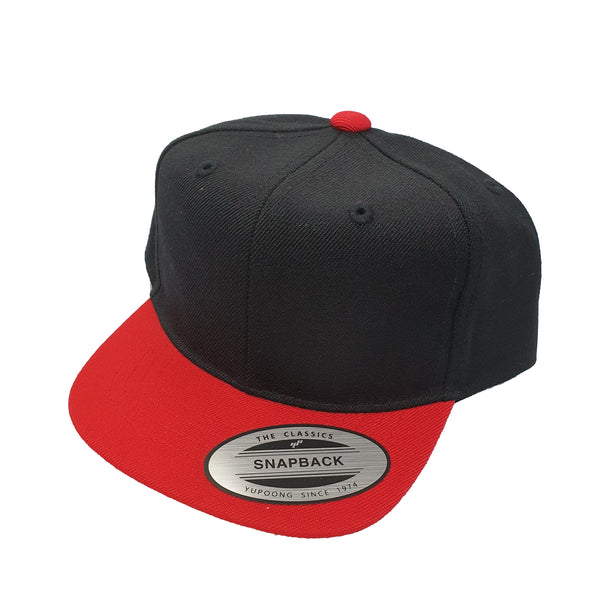 FLEXFIT (Toddler) - Classic Snapback - Black/Red