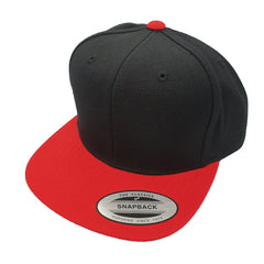 FLEXFIT (Youth) - Classic Snapback - Black/Red