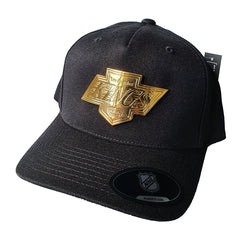 NHL GOLD Enamel Crest Flex 110 Snapback - Los Angeles Kings