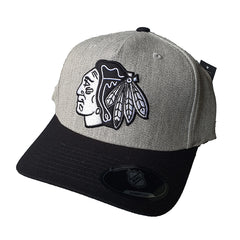 NHL Heather Grey Black & White Flex 110 - Chicago Blackhawks