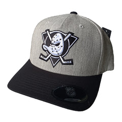 NHL Heather Grey Black & White Flex 110 - Anaheim Mighty Ducks
