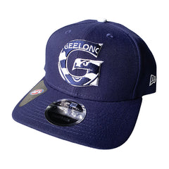 NEW ERA 9FIFTY - AFL Letter Infill - Geelong Cats