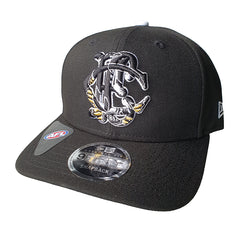 NEW ERA 9FIFTY - AFL Letter Infill - Collingwood Magpies