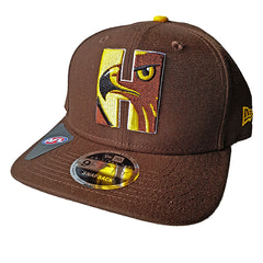 NEW ERA 9FIFTY - AFL Letter Infill - Hawthorn Hawks