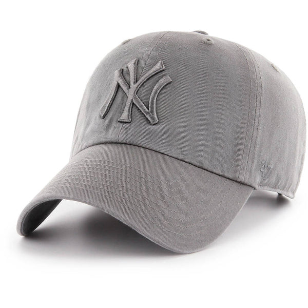 '47 Brand - CLEAN UP Grey Tonal - New York Yankees