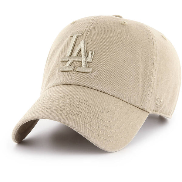 '47 Brand - CLEAN UP Tonal Khaki - Los Angeles Dodgers