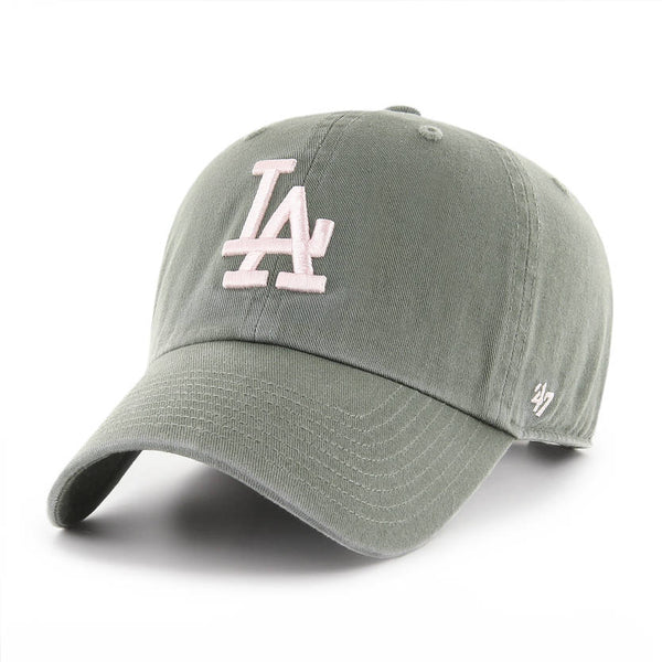 47 Brand - CLEAN UP Moss Green Rose - Los Angeles Dodgers.   7837702d79c4