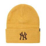 '47 BRAND - Haymaker Wheat Cuff Knit Beanie - New York Yankees