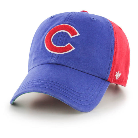 '47 Brand - CLEAN UP - Chicago Cubs Royal/Red Flagstaff