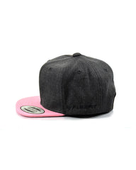 Flexfit (Toddler 1-3yo) - Base Hit Wool Blend - Heather Charcoal/Prism Pink - Cap City