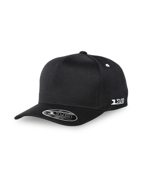 FLEXFIT (Youth) - A Vintage 110 Snapback - Black
