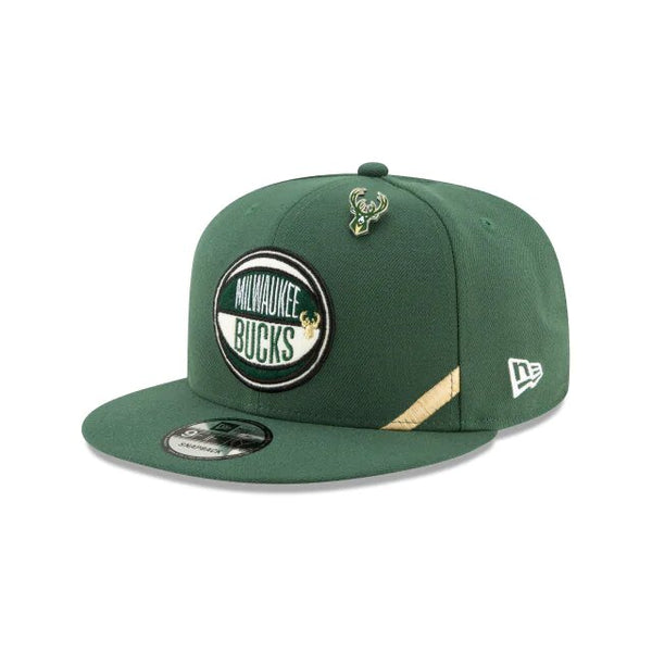 NEW ERA 9FIFTY - NBA Authentics Draft Series - Milwaukee Bucks