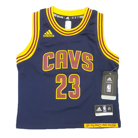 Adidas NBA Replica Jersey (Toddler) - Cleveland Cavaliers - Lebron James