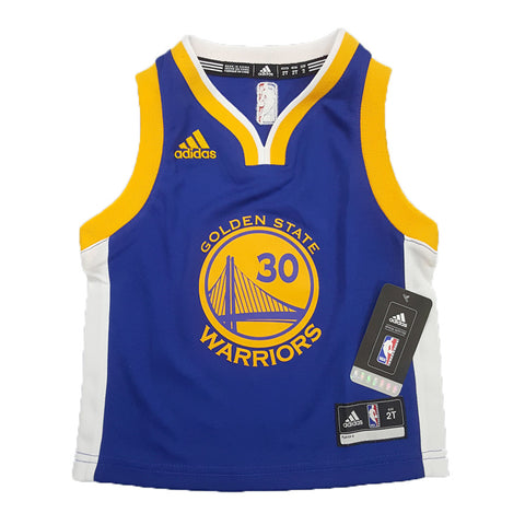 Adidas NBA Replica Jersey (Toddler) - Golden State Warriors - Steph Curry