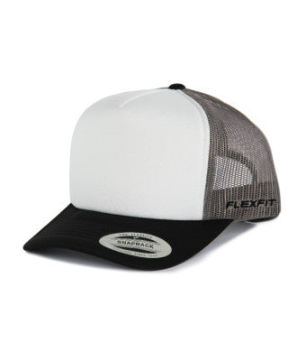 Flexfit - High Crown Trucker - Grey/Black