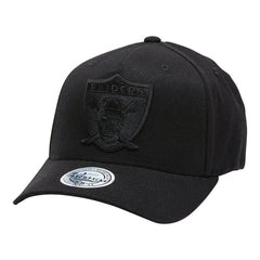 MITCHELL & NESS - 110 NFL All Black Throwback - Las Vegas Raiders