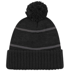 NHL Triple Black Bobble Beanie Knit - Los Angeles Kings