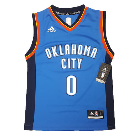 Adidas NBA Replica Jersey (Youth) - Oklahoma City Thunder - Russell Westbrook