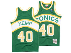 MITCHELL & NESS - NBA Hardwood Classic Swingman Jersey - Shawn Kemp Seattle Supersonics 1994-95
