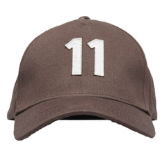 Elevn - 11 Baseball Cap - Brown
