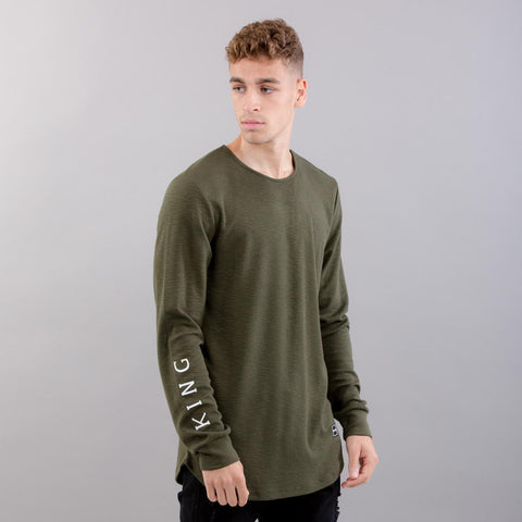 King Apparel - Pitchford Lightweight Midline Sweatshirt - Fern