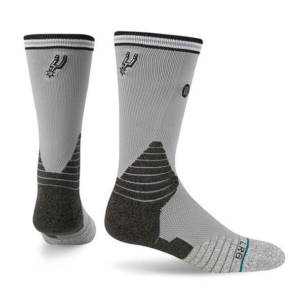 Stance (Official on-court NBA) - Logo Crew - San Antonio Spurs