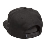 King Apparel - Stepney Pinch Panel Snapback Cap - Black