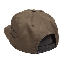 King Apparel - Stepney Pinch Panel Snapback Cap - Fern - Cap City