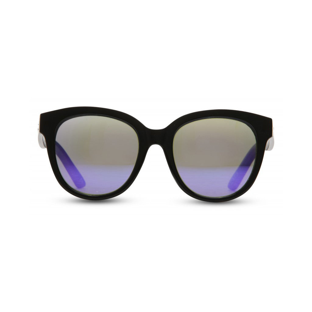 Black fashion sunglasses front view