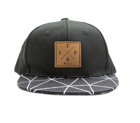 black kids snapback cap