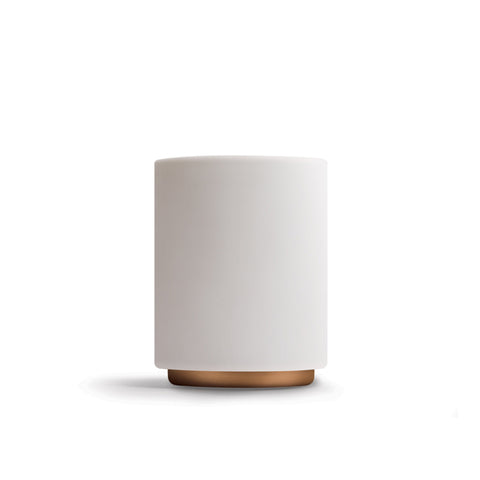 Monty Latte Cup - Matt White & Copper