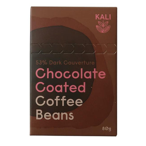 Kali Chocolate Coated Coffee Beans - 80g