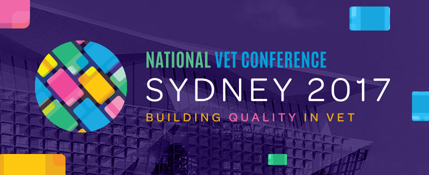"VELG Training National VET Conference ""Building Quality in VET"" 14-15 September in Sydney"