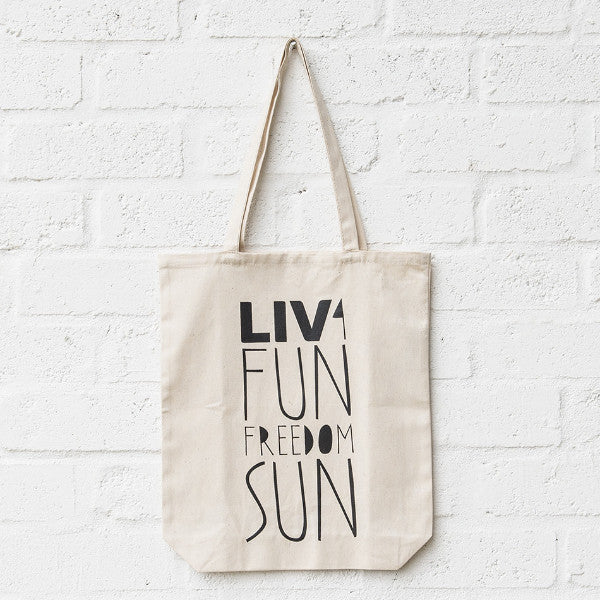 LIV 4 Fun Freedom & Sun Tote SA ONLY