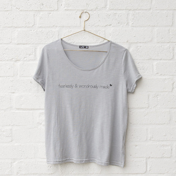 Womens Wondrously Made Boxy Crew Tee - SA ONLY