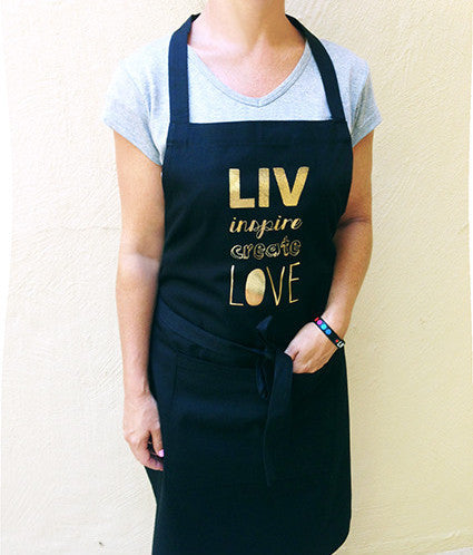Apron LIV Inspire Create Love SA ONLY