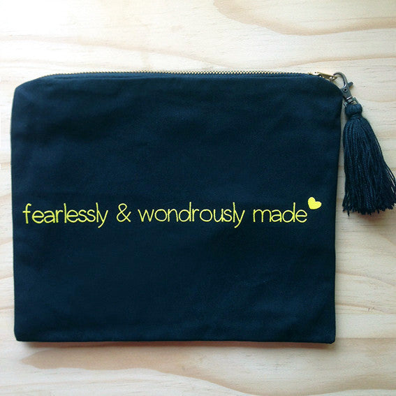 Cosmetic Bag Wondrously Made SA ONLY