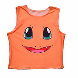 Charmander Crop Top