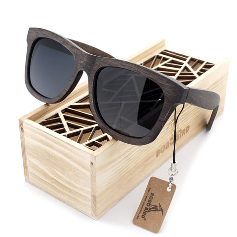 Premium Wooden Polarized Sunglasses