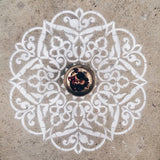 YOGINI LOVE MANDALA STENCIL RRP $99.95 NOW $45.00