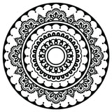 YOGINI HAPPINESS MANDALA STENCIL RRP $99.95 NOW $45.00