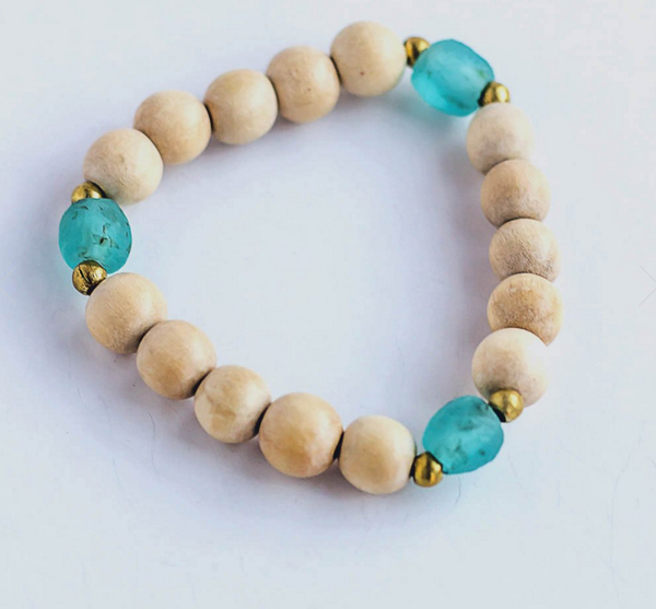 SANDRINE BRACELET SEA GREEN